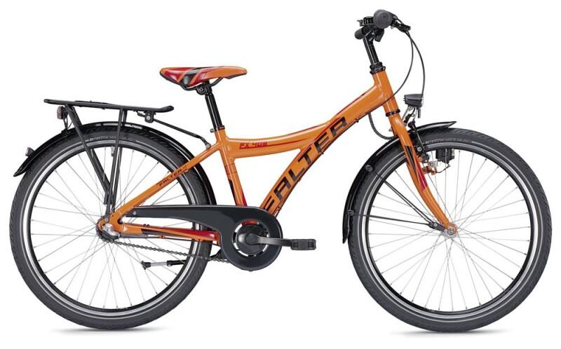 Falter FX 403 Y orange/schwarz Kinder / Jugend