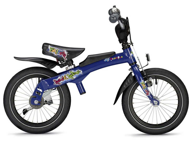 Falter Run & Ride blau