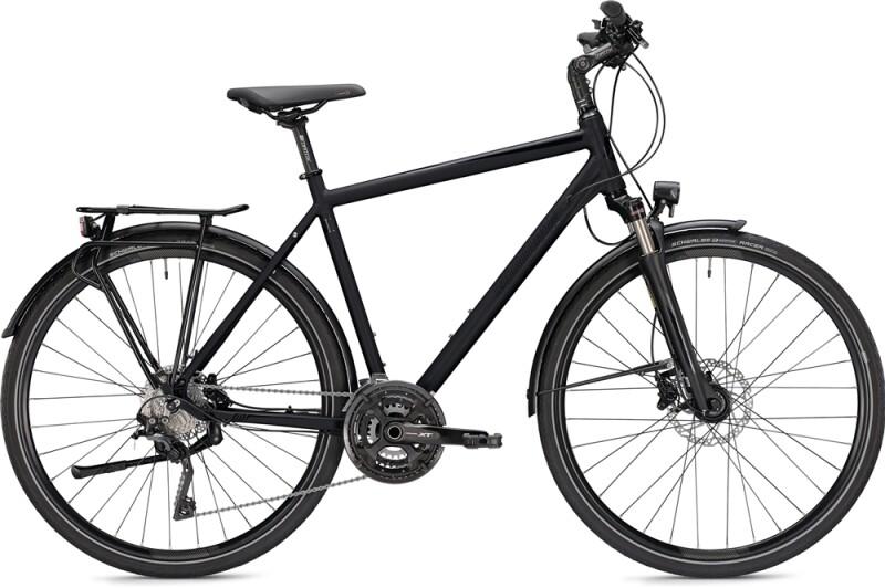 Morrison T 7.0 Herren schwarz Trekkingbike