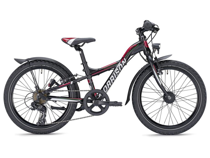 Morrison Mescalero S20 Y-Lite schwarz/rot matt