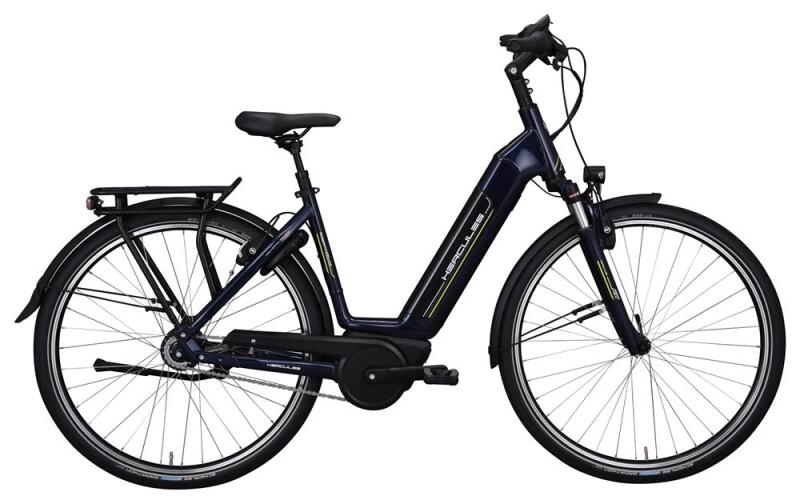 Hercules Robert/-a Deluxe I-R8 Zentralrohr Blau E-Bike