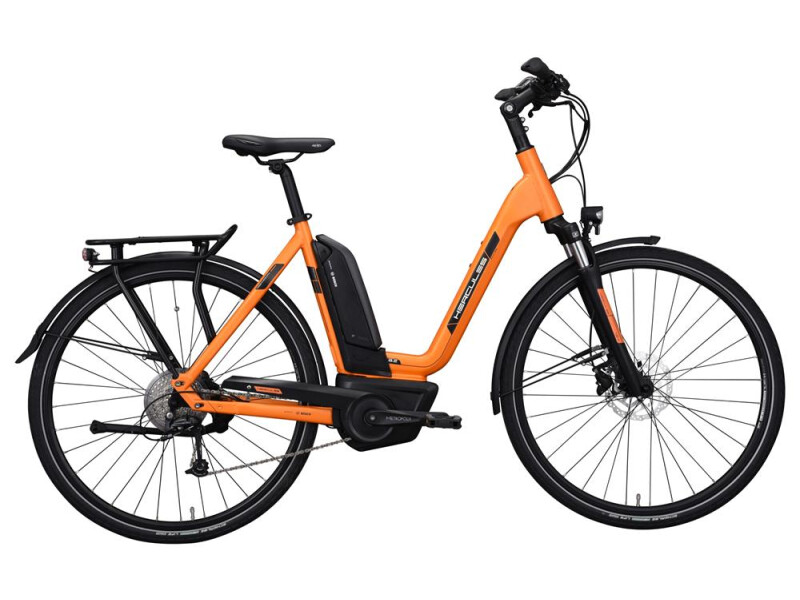 Hercules Futura Sport 8.2 Zentralrohr Orange