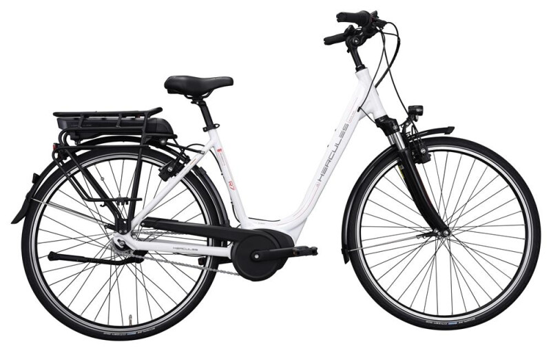 Hercules Robert/-a R7 Active Plus Weiß E-Bike