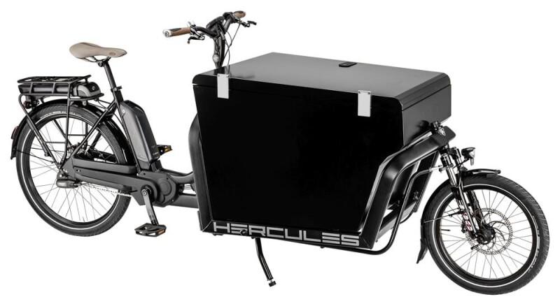 Hercules Cargo 1000 Schwarz E-Bike