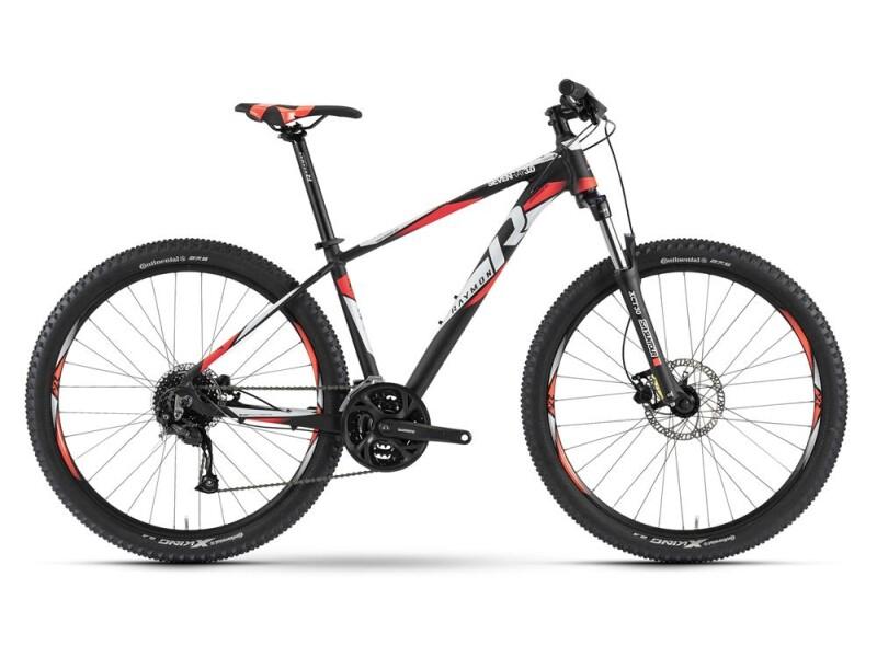 Raymon Sevenray 3.0 Schwarz/Weiß/Rot