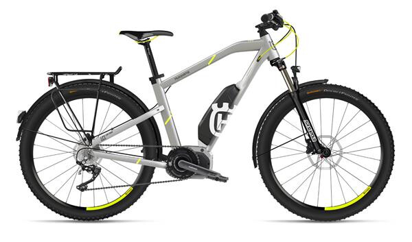 HUSQVARNA BICYCLES - LC1 Allroad Silber/Neon Gelb