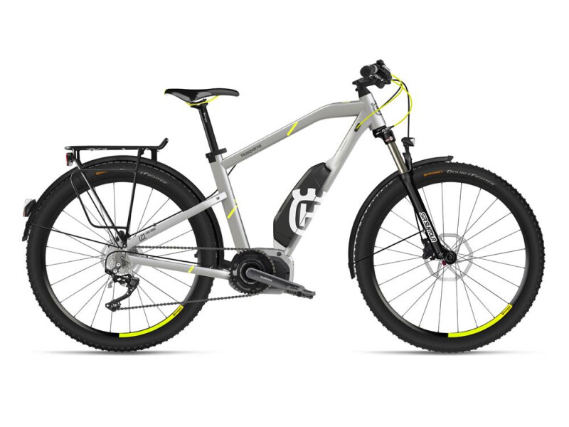 Husqvarna Bicycles LC1 Allroad Silber/Neon Gelb