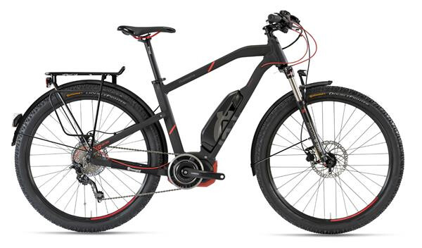 HUSQVARNA BICYCLES - LC2 Allroad Schwarz/Neon Rot