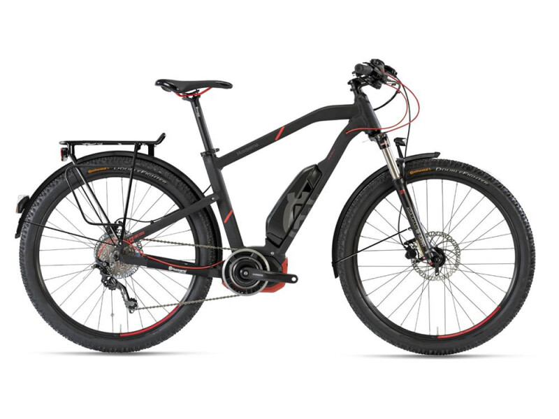 Husqvarna Bicycles LC2 Allroad Schwarz/Neon Rot