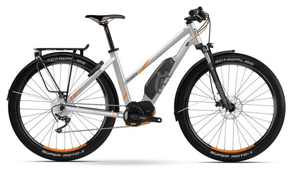 HUSQVARNA BICYCLES - GT LTD Trapez Polar Silber