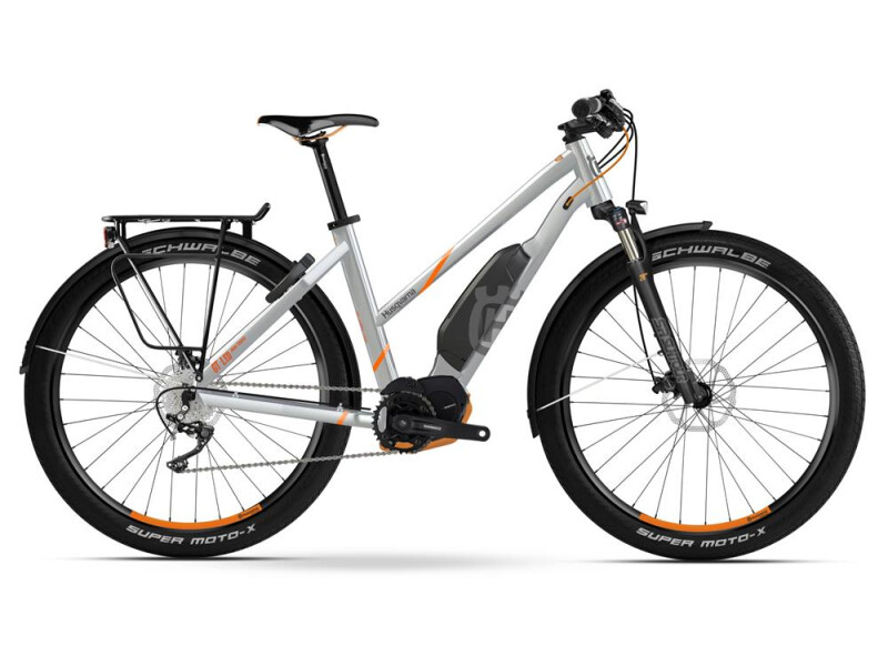 Husqvarna Bicycles GT LTD Trapez Polar Silber