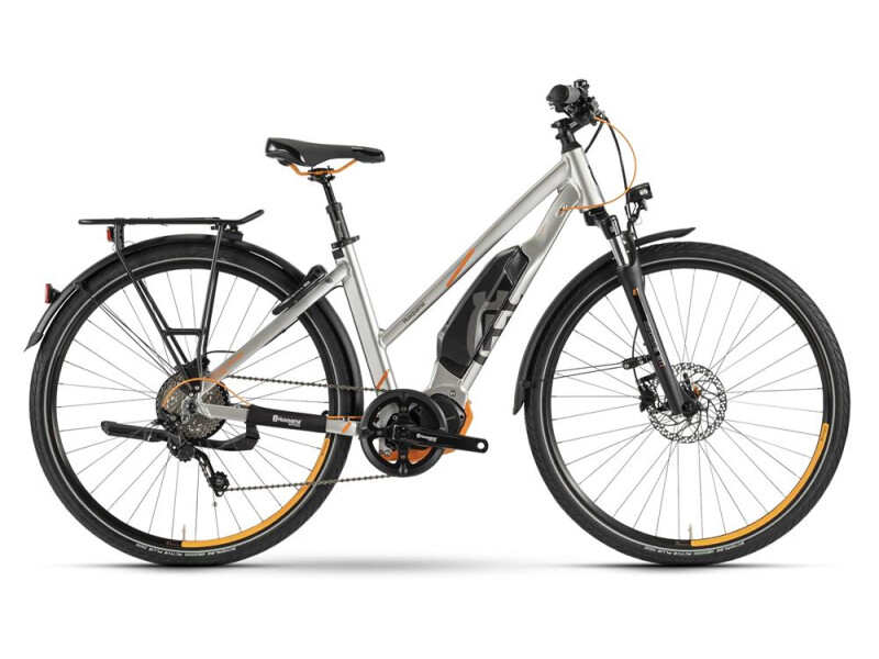 Husqvarna Bicycles LT LTD Trapez Polar Silber