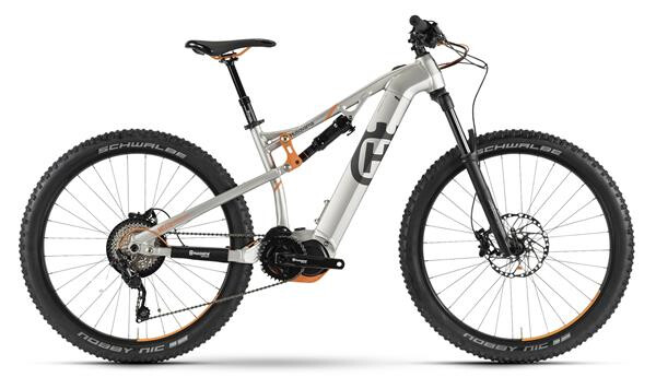 HUSQVARNA BICYCLES - MC LTD Polar Silber