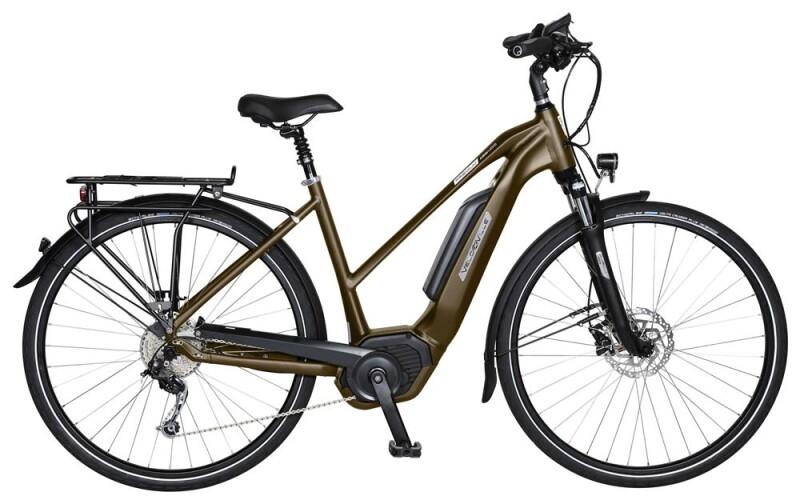 Velo de Ville AEB400 8 Gang Shimano Alfine Freilauf E-Bike
