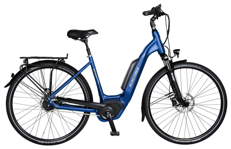 Velo de Ville AEB800 8 Gang Shimano Alfine Freilauf E-Bike