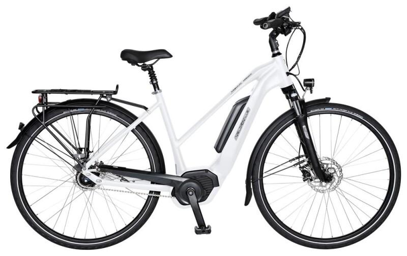 Velo de Ville AEB800 E 5 Gang Shimano Nexus Di2 Freilauf E-Bike