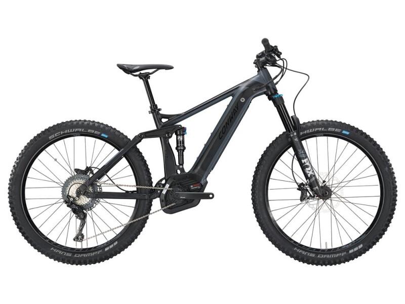 Conway eMF 527 Plus black matt/grey