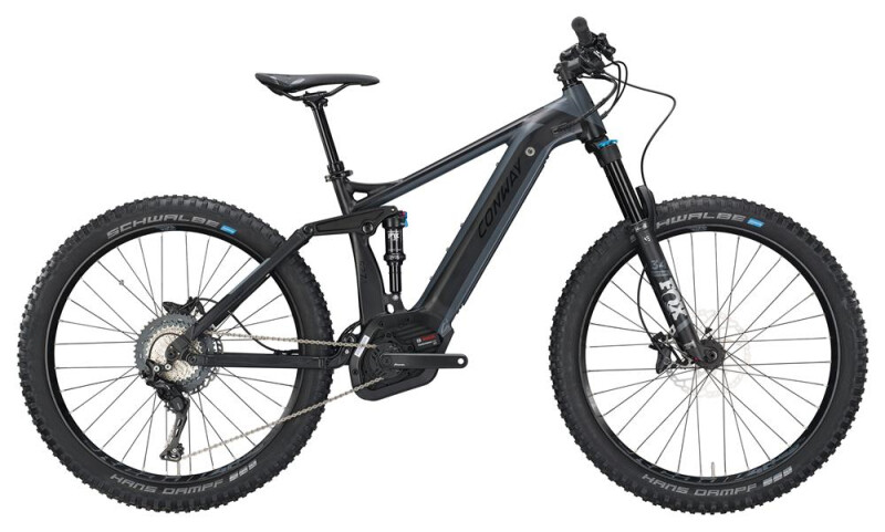 Conway eMF 527 Plus black matt/grey E-Bike
