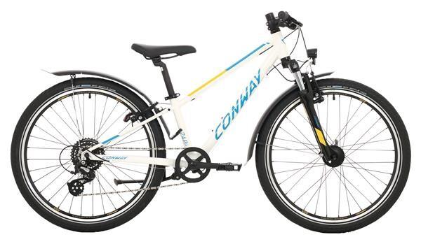 CONWAY - MC 240 Gefedert white/blue