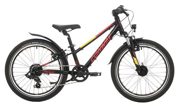 CONWAY - MC 200 Gefedert black/red