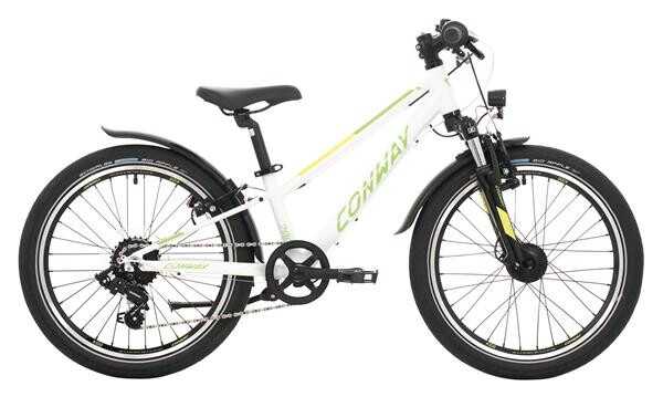 CONWAY - MC 200 Gefedert white/green