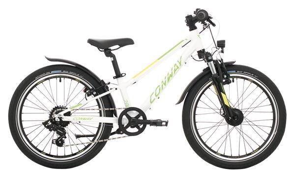 CONWAY - MC 200 Gefedert white/green