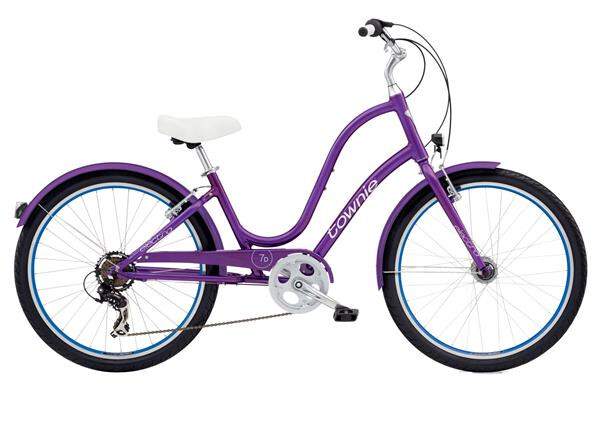 ELECTRA BICYCLE - Townie Original 7D EQ Ladies' Violet