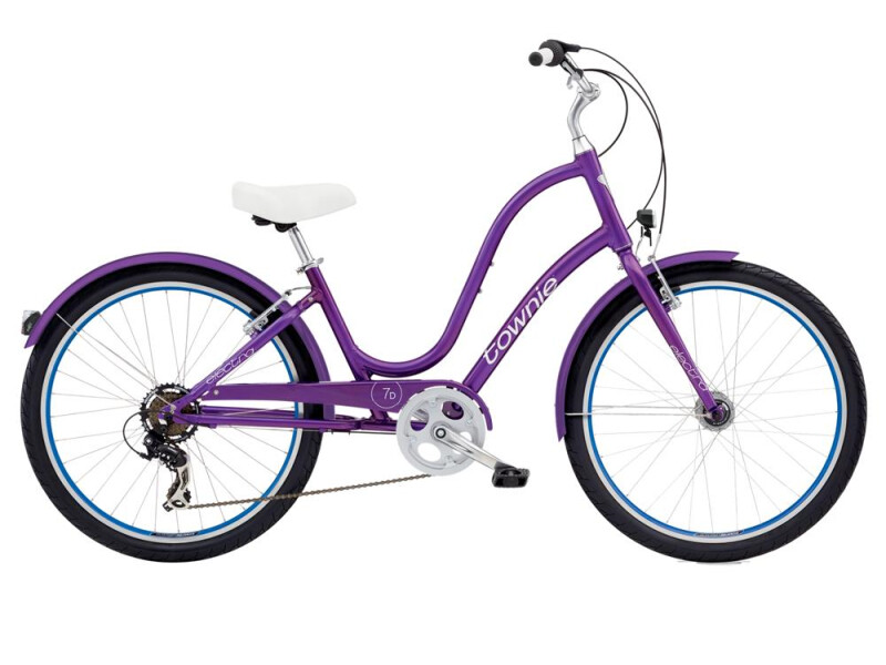 Electra Bicycle Townie Original 7D EQ Ladies' Violet