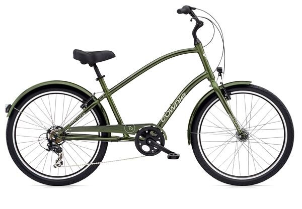 ELECTRA BICYCLE - Townie Original 7D EQ Men's Moss Metallic