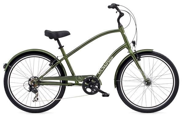 ELECTRA BICYCLE - Townie Original 7D EQ Men's Moss Metallic