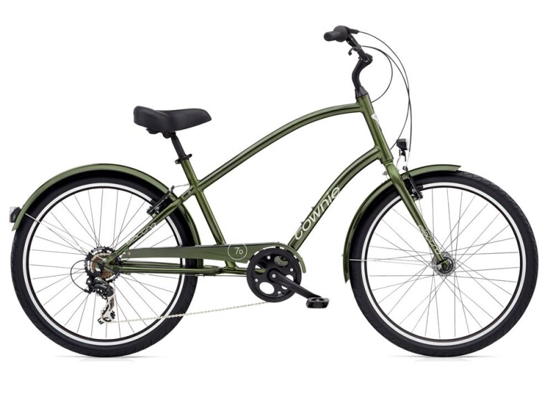 Electra Bicycle Townie Original 7D EQ Men's Moss Metallic