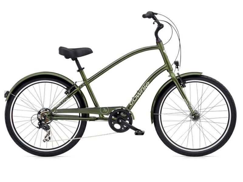 Electra Bicycle Townie Original 7D EQ Men's Moss Metallic