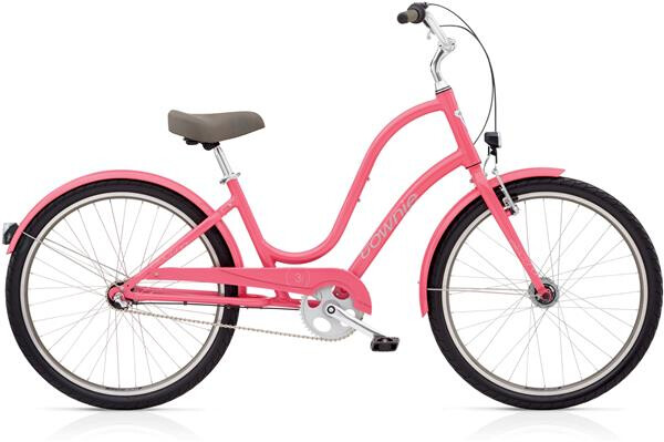 ELECTRA BICYCLE - Townie Original 3i EQ Ladies' Grapefruit