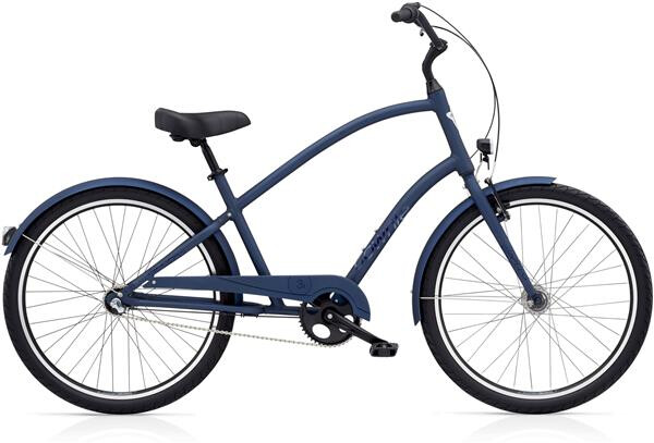 ELECTRA BICYCLE - Townie Original 3i EQ Men's Satin Midnight Blue