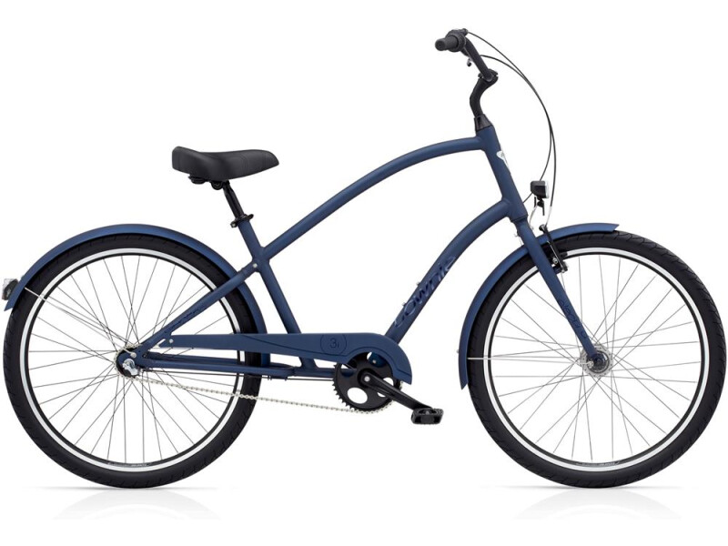 Electra Bicycle Townie Original 3i EQ Men's Satin Midnight Blue