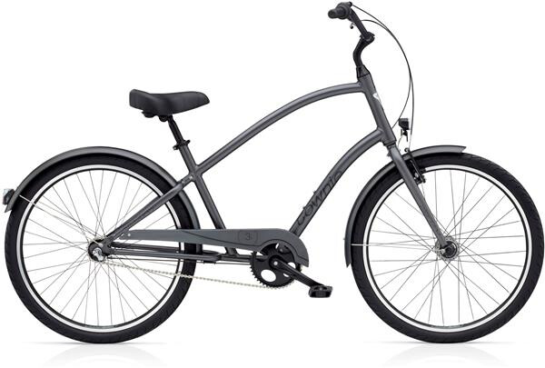 ELECTRA BICYCLE - Townie Original 3i EQ Men's Satin Graphite