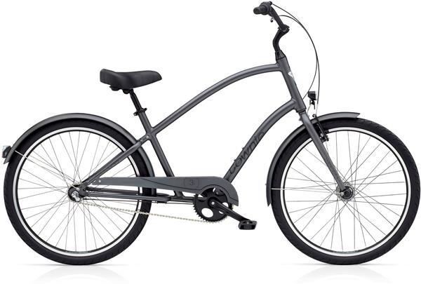 ELECTRA BICYCLE - Townie Original 3i EQ Men's Satin Graphite