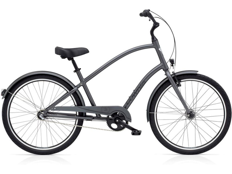 Electra Bicycle Townie Original 3i EQ Men's Satin Graphite