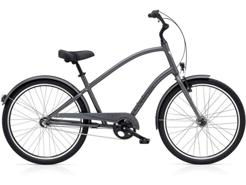 Electra Bicycle Townie Original 3i EQ Men's Satin Graphite