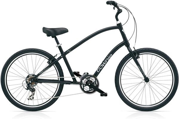 ELECTRA BICYCLE - Townie Original 21D Men's Black Satin