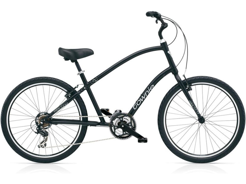 Electra Bicycle Townie Original 21D Men's Black Satin