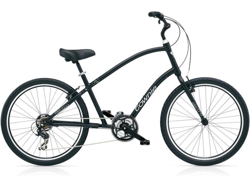Electra Bicycle Townie Original 21D Men's Black Satin