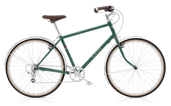 ELECTRA BICYCLE - Ticino 8D Men's LG Racing Green