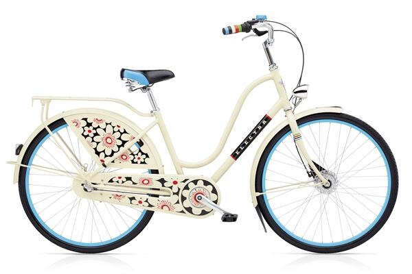 ELECTRA BICYCLE - Amsterdam Bloom 3i Ladies' Cream