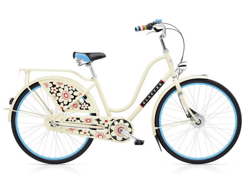 Electra Bicycle Amsterdam Bloom 3i Ladies' Cream