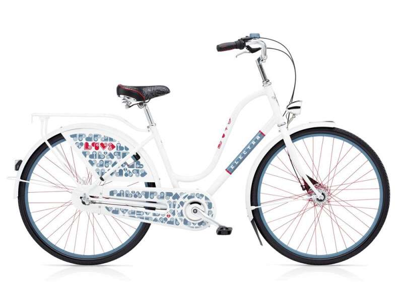 Electra Bicycle Amsterdam Love 3i Ladies' White