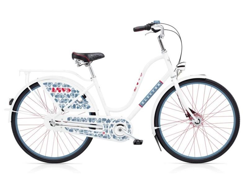 Electra Bicycle Amsterdam Love 3i Ladies' White