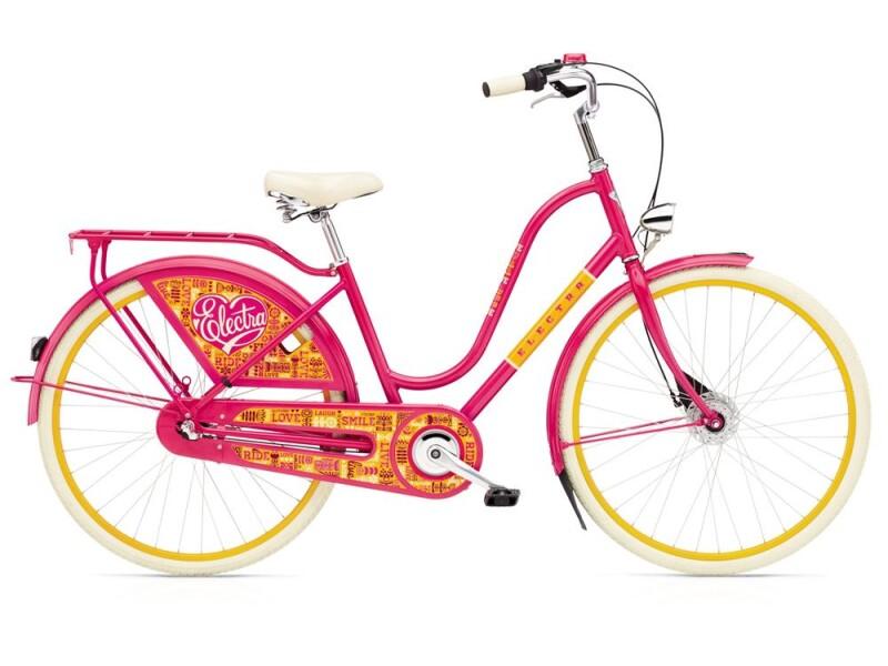 Electra Bicycle Amsterdam Joyride 7i Ladies' BRIGHT PINK