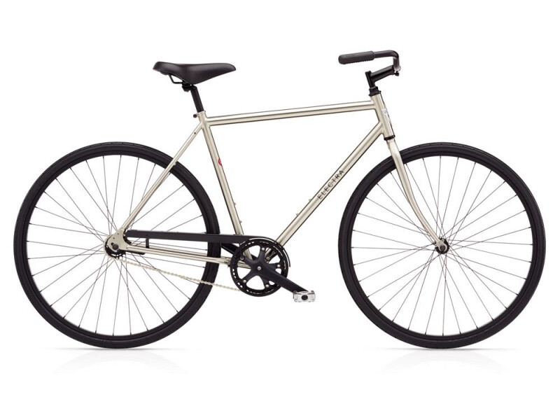 Electra Bicycle Loft 1 Men's Nickel Plated