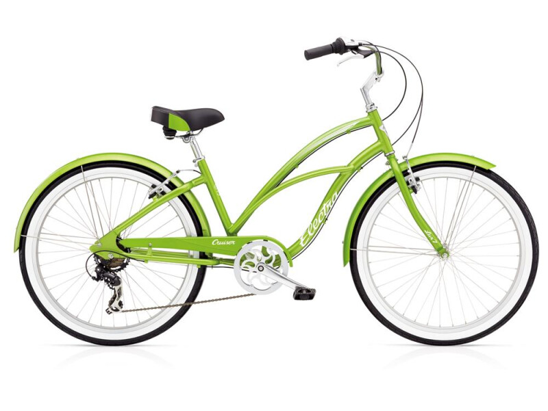 Electra Bicycle Cruiser Lux 7D Ladies' Green Metallic